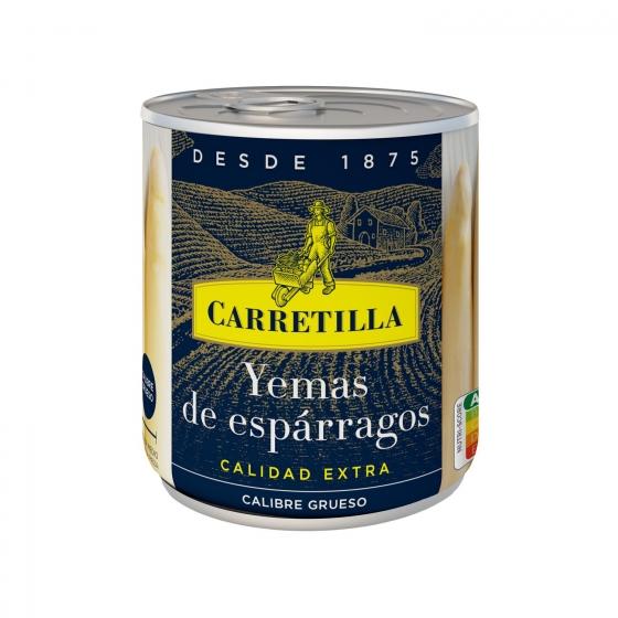 Yemas de espárragos blancos extra gruesas Carretilla 135 g.
