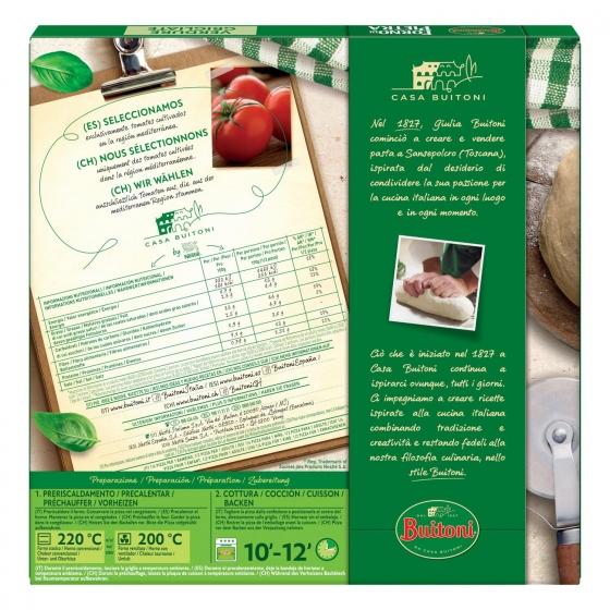 Pizza vegetal fina y crujiente Forno di Pietra Buitoni 370 g. - 1