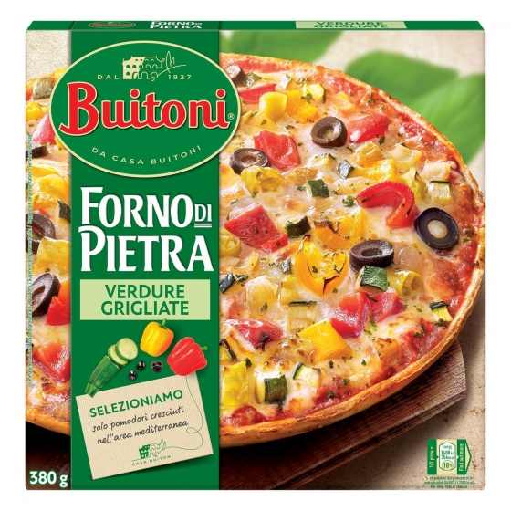 Pizza vegetal fina y crujiente Forno di Pietra Buitoni 370 g. - 4