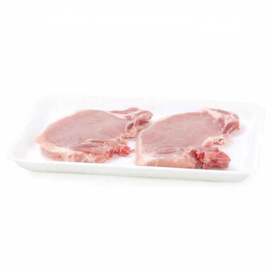 Chuleta Lomo de Cerdo Carrefour 350 g aprox - 1