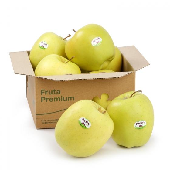 Manzana golden premium a granel 500 g aprox