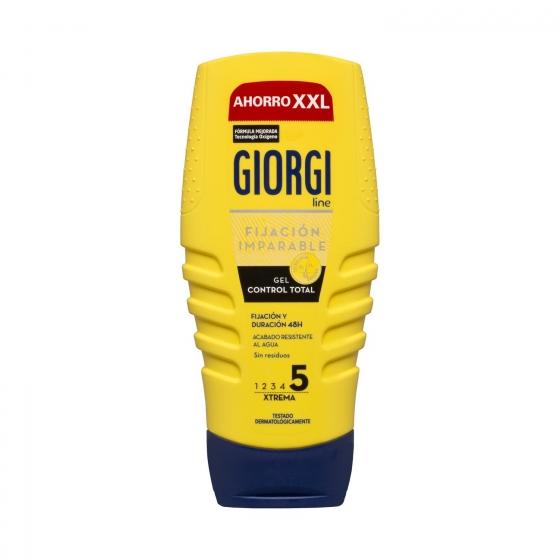Gel fijador x-trema 'Control Total' Giorgi 250 ml.