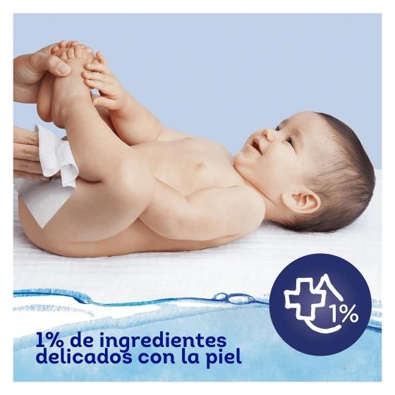 Toallitas para bebé con tapa aqua pure Dodot 48 ud. - 4