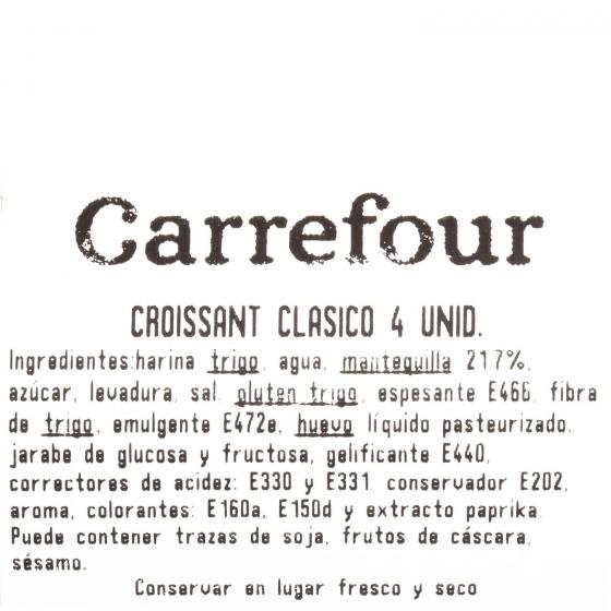 Croissant clásico Carrefour 4 ud - 3