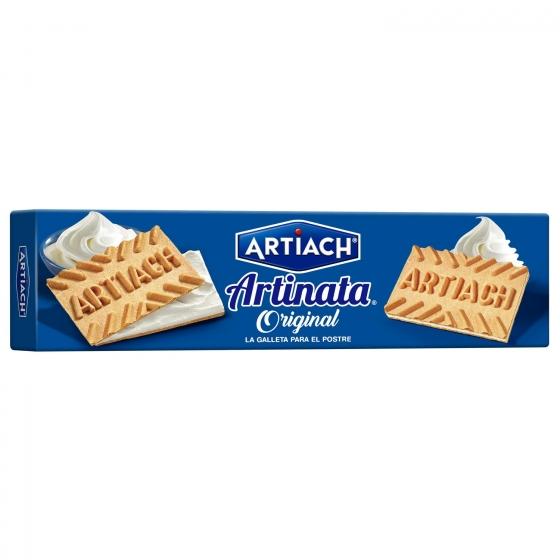 Galletas de barquillo rellenas de crema Artiach 175 g. - 1