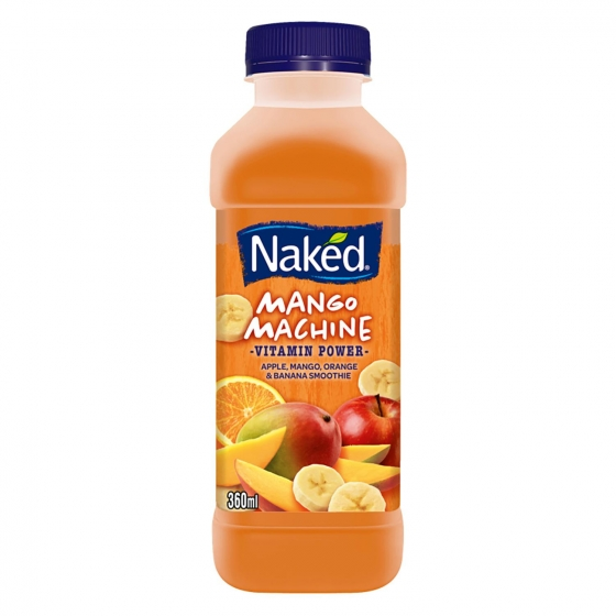 Smoothie Mango Machine Naked botella de 36 cl.