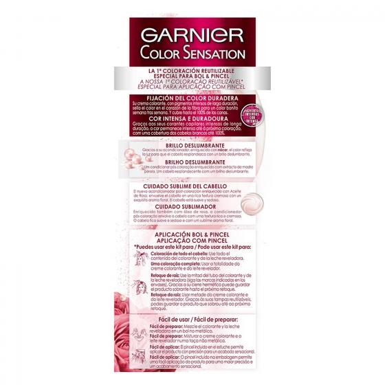 Coloración Permanente nº 5,15 Espresso Garnier Color Sensation 1 ud. - 4