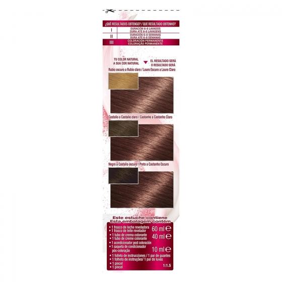 Coloración Permanente nº 5,15 Espresso Garnier Color Sensation 1 ud. - 5