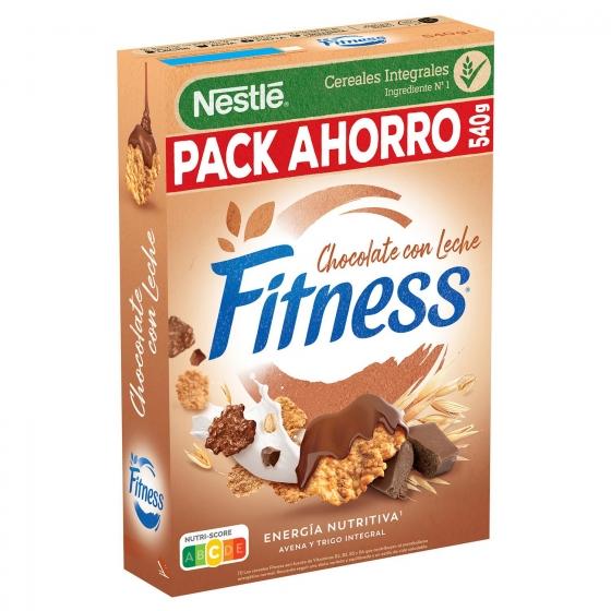 Cereales integrales con chocolate con leche Fitness Nestlé 600 g. - 3