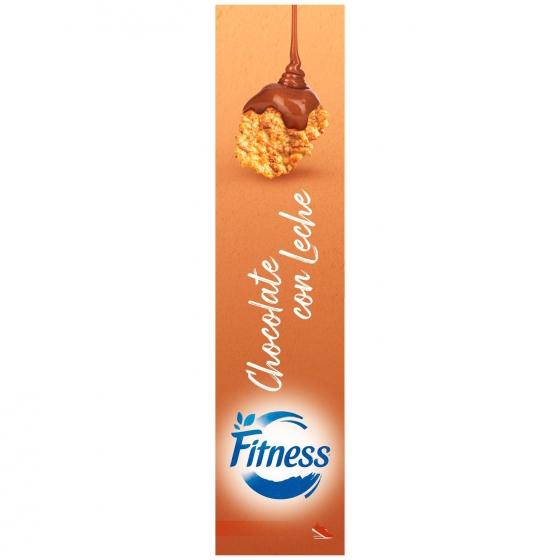 Cereales integrales con chocolate con leche Fitness Nestlé 600 g. - 4