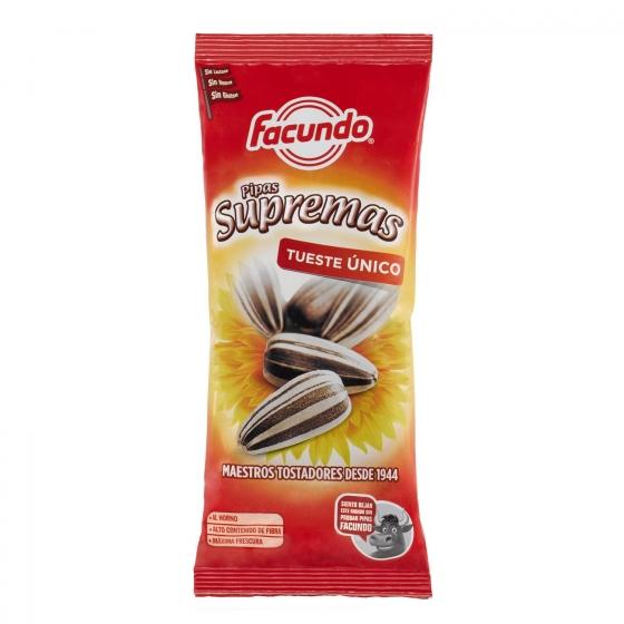 Pipas Supremas Facundo sin gluten 120 g.