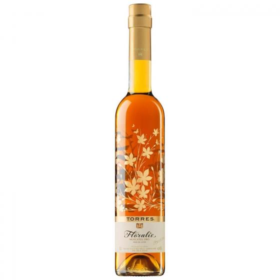 Vino moscatel oro Floralis 50 cl.