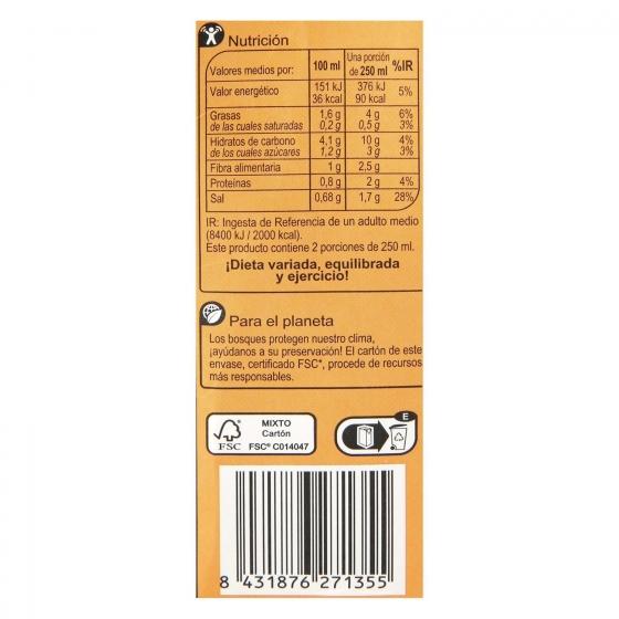 Crema de verduras mediterráneas Carrefour sin gluten 500 ml. - 1