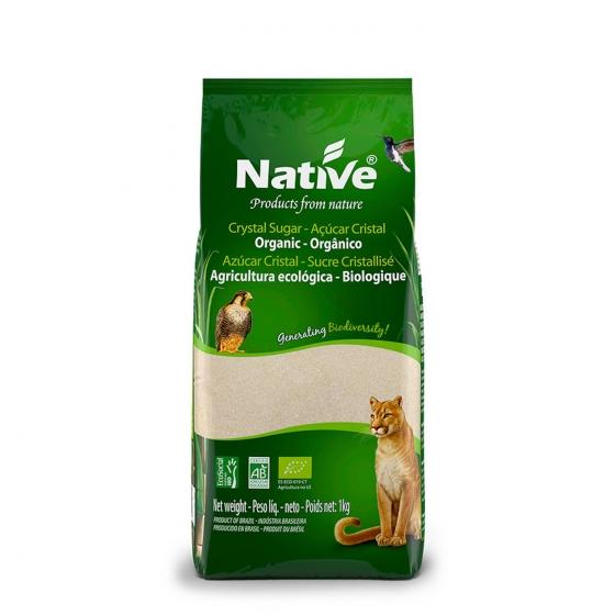 Azúcar blanco ecológico Native 1 kg.