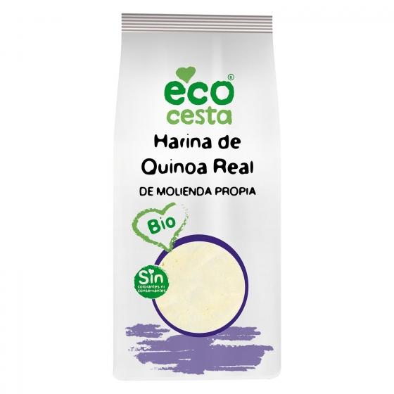 Harina de quinoa real ecológica Ecocesta 500 g.