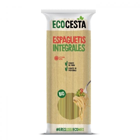 Espaguetis integrales ecológicos Ecocesta 500 g.