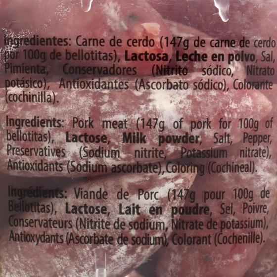 Salchichón jabugo bellotitas Cuyar 150 g - 1