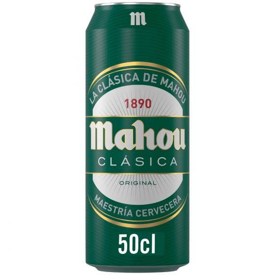 Cerveza Mahou Clasica Lata 50 Cl Carrefour Supermercado Compra
