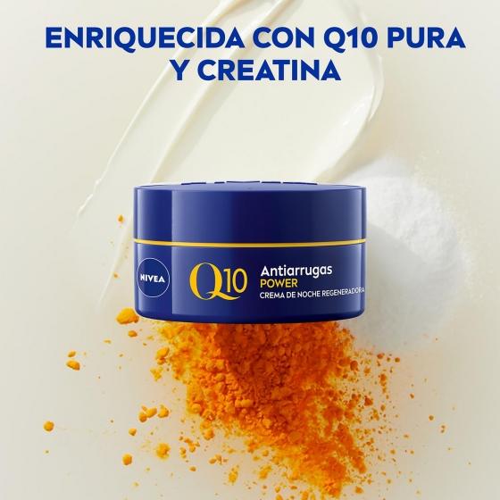 Cuidado de noche anti-arrugas + firmeza Nivea Q10 Power 50 ml. - 1