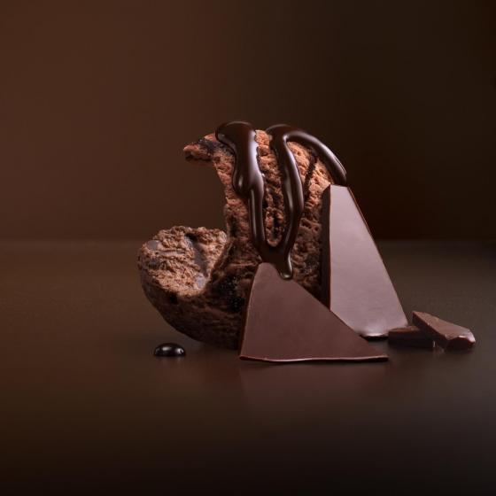 Helado de chocolate deluxe Double Magnum 440 ml. - 4