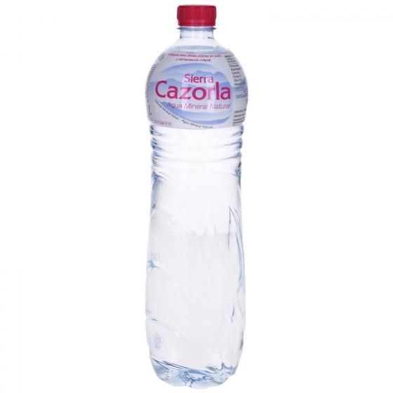 Agua mineral Sierra Cazorla natural 1,5 l.