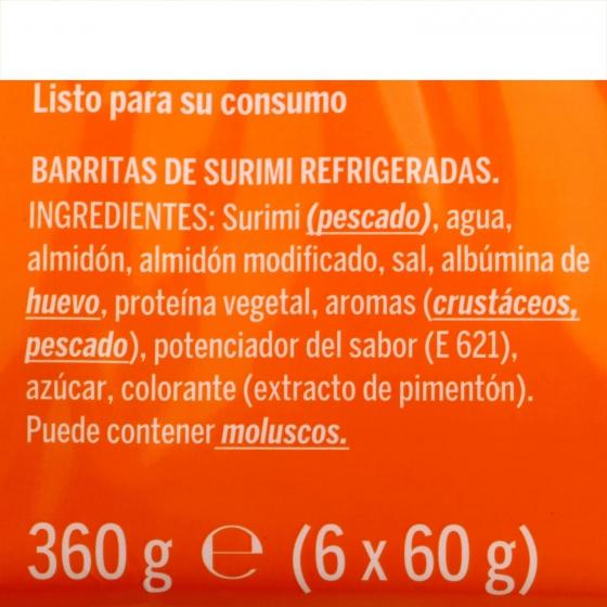 Barritas 0% grasa 360 g - 1