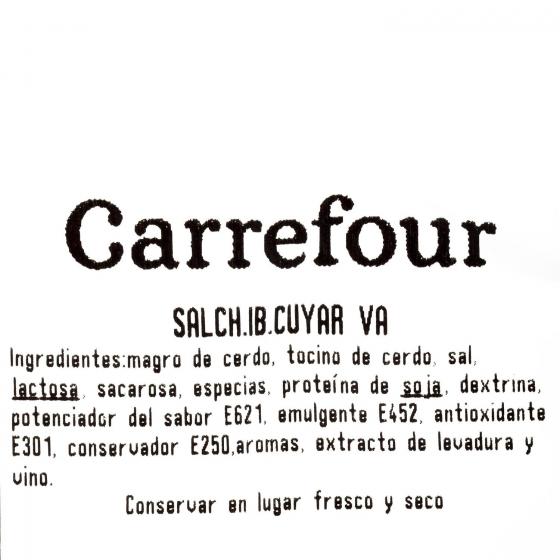 Salchichón cular ibérico La Bari Cuyar al corte 250 g aprox - 3