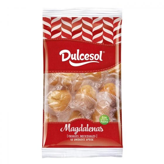 Magdalenas DulceSol 18 ud.