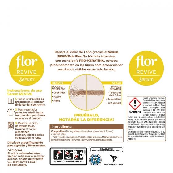 Serum reparador de tejidos revive Flor 100 ml. - 1
