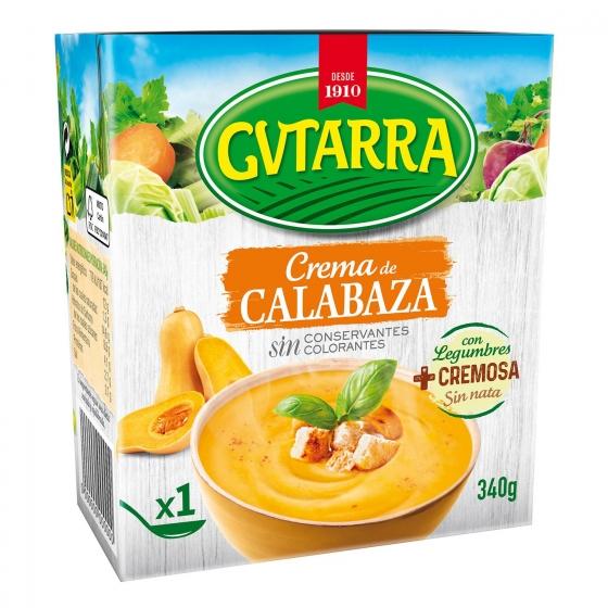 Crema de calabaza Gvtarra 340 g.