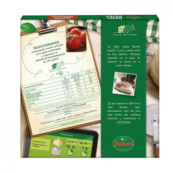 Pizza de jamón serrano Forno Di Pietra Buitoni 399 g. - 1