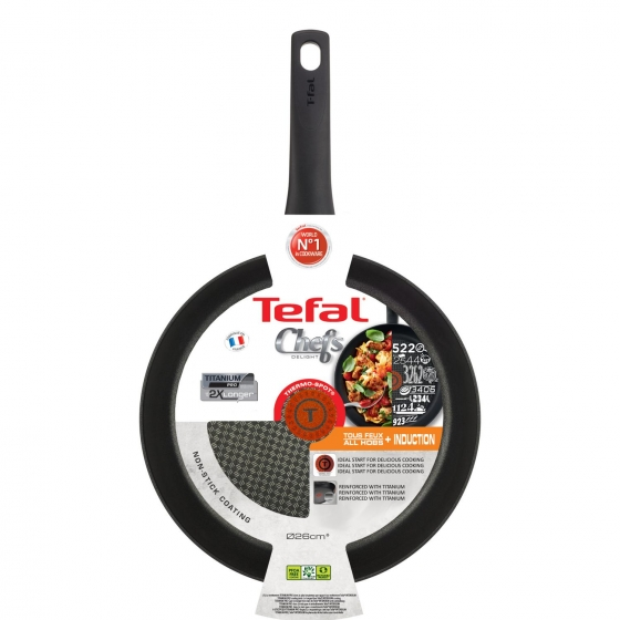 Sartén TEFAL 26 cm Chef - 5