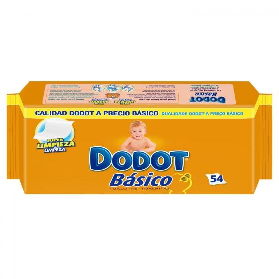 Toallitas para bebé Básico Dodot 54 ud. - 1