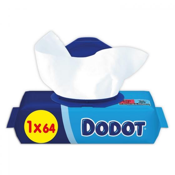 Toallitas para bebé con tapa Dodot 64 ud. - 3