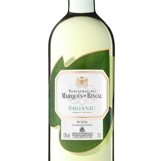 Vino D.O. Rueda blanco verdejo ecológico Marqués de Riscal 75 cl. - 1