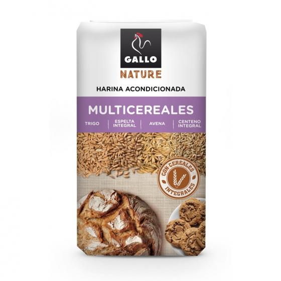 Harina de multicereales Gallo Nature 900 g.