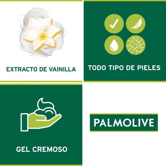 Gel de ducha Gourmet cremoso Vainilla Palmolive 500 ml. - 1