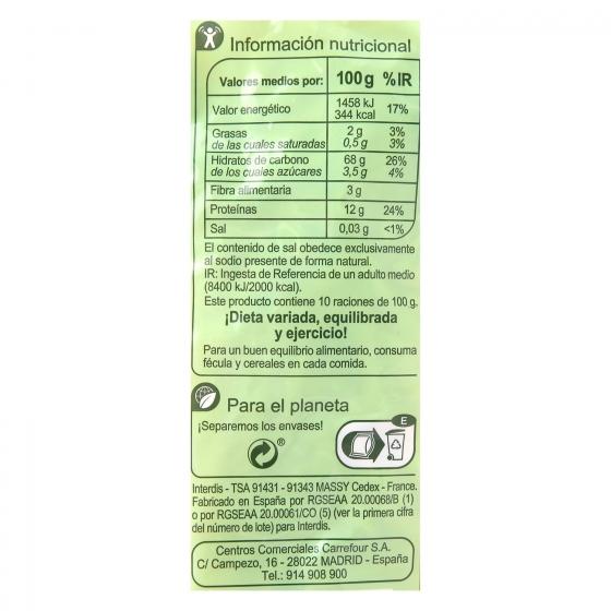 Macarrones Carrefour 1 kg. - 1
