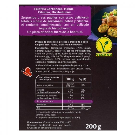 Falafels Carrefour Veggie 200 g. - 1