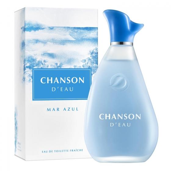 Agua de colonia Mar Azul Chanson D'Eau 200 ml.