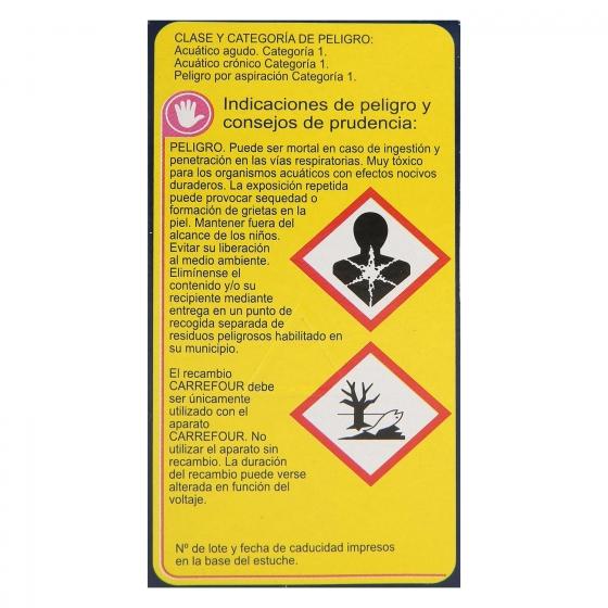 Insecticida eléctrico antimosquitos líquido recambio Carrefour 1 ud. - 1