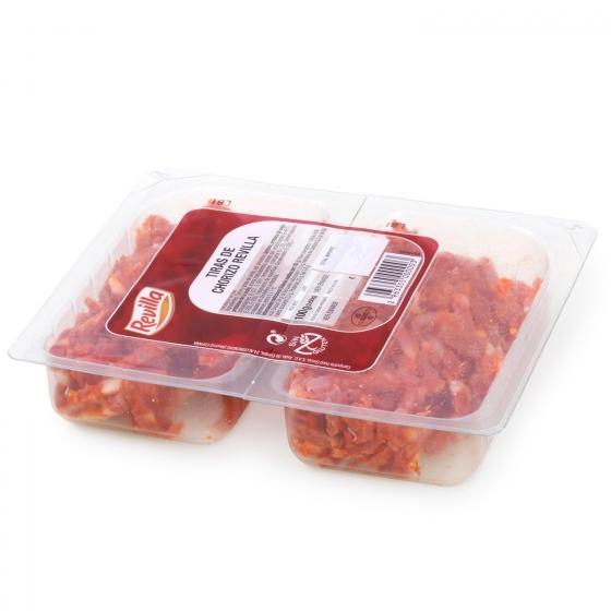 Chorizo curado en tiras Revilla (2x50g) 100 g