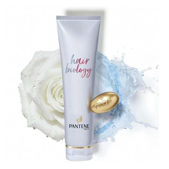 Acondicionador purifica & recontruye hair Biology Pantene 160 ml. - 1