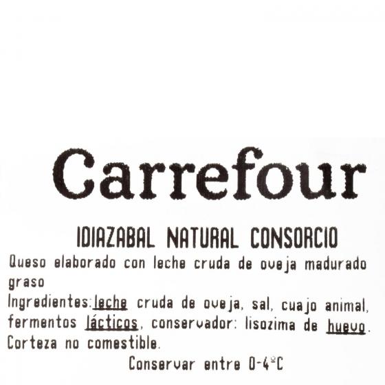 Queso puro de oveja D.O.P. Idiazabal El Consorcio de Quesos cuña 1/8, 200 g - 3