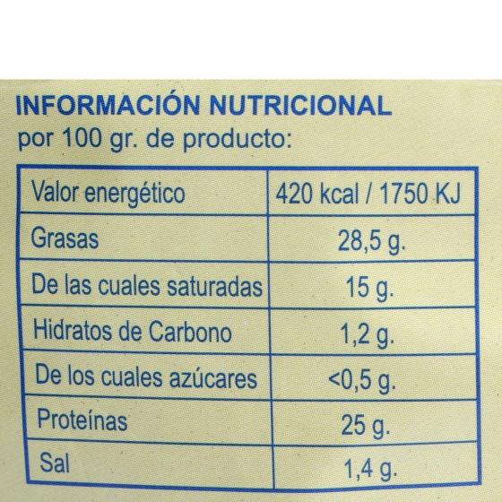 Queso puro de oveja D.O.P. Idiazabal El Consorcio de Quesos cuña 1/8, 200 g - 4