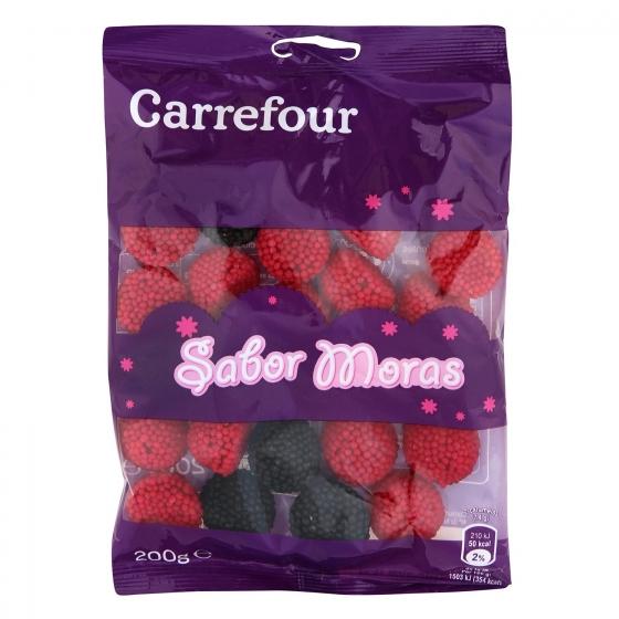 Moras de goma Carrefour 200 g.