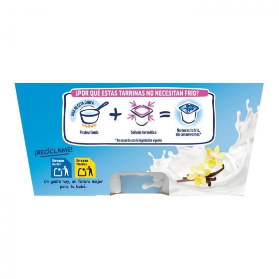 Natillas sabor vainilla desde 6 meses Nestlé Yogolino sin gluten pack de 4 unidades de 100 g. - 6