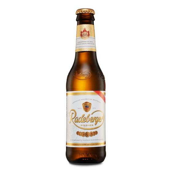 Cerveza Radeberger pilsner botella 33 cl.
