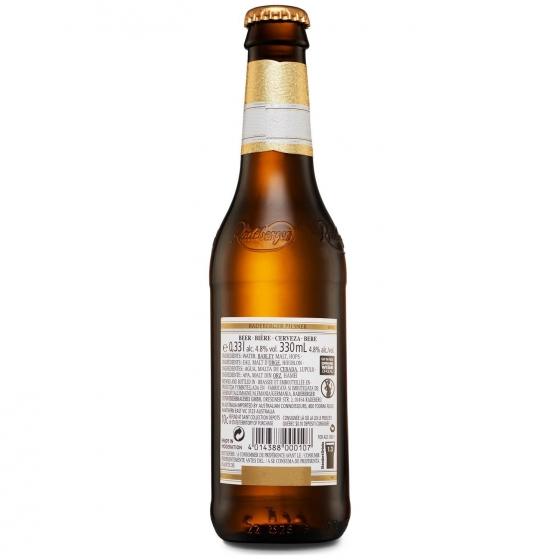Cerveza Radeberger pilsner botella 33 cl. - 1
