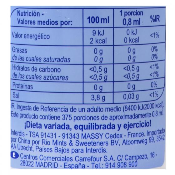 Edulcorante líquido Carrefour 300 ml. - 3